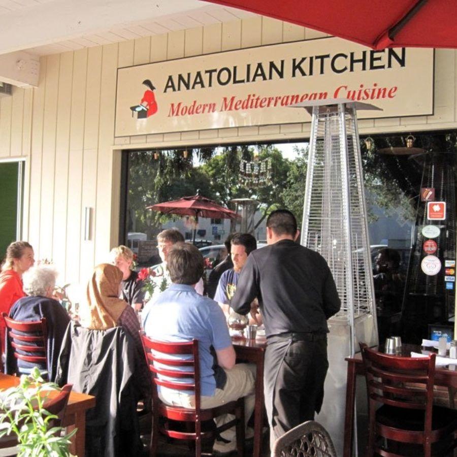 Anatolian Kitchen Restaurant Palo Alto Ca Opentable