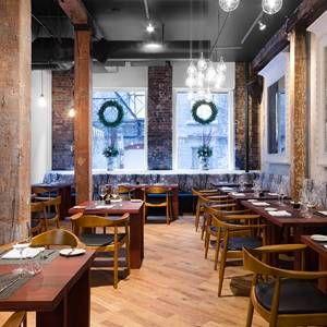 A photo of Woods Restaurant & Bar restaurant