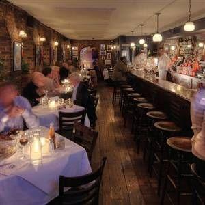 A photo of Joe Allen restaurant