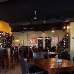 A photo of house. wine. & bistro. restaurant