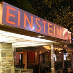 A photo of Einstein's restaurant
