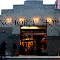 A photo of Anchor and Hope restaurant