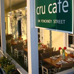 A photo of Cru Cafe restaurant