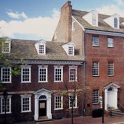 A photo of Gadsby's Tavern restaurant