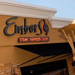 A photo of Embers restaurant