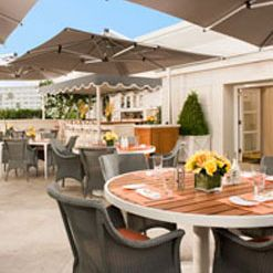 A photo of The Roof Garden at The Peninsula Beverly Hills restaurant