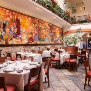 Una foto del restaurante El Mural de los Poblanos