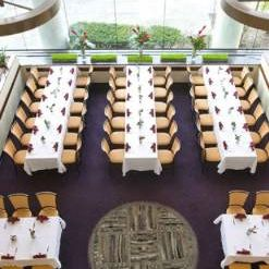 A photo of The Atrium restaurant
