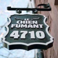A photo of Le Chien Fumant restaurant