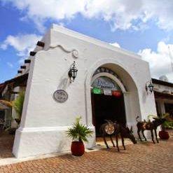 Una foto del restaurante Pancho's Backyard - Puerta Maya