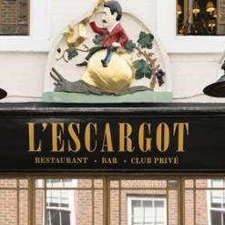 A photo of L'Escargot restaurant