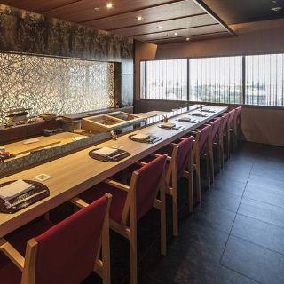 A photo of Sushi Hanamikoji Kobe - Seishin Oriental Hotel restaurant