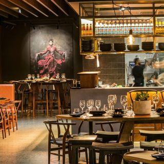 A photo of Mamasan Kitchen and Bar restaurant