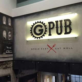A photo of G Pub restaurant