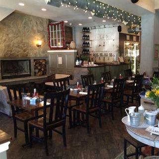 A photo of Hawthornes restaurant