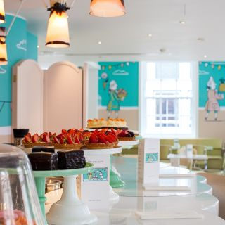 A photo of Fortnum & Mason The Parlour restaurant