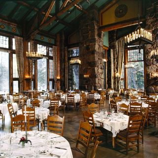 A photo of The Ahwahnee Hotel restaurant