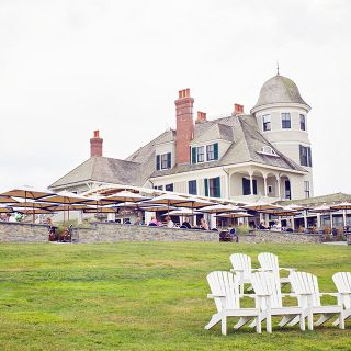 A photo of The Lawn at Castle Hill Inn restaurant