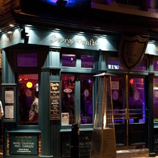 A photo of The George Vaults restaurant