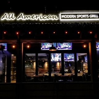 A photo of All American Modern Sports Grill - Market Street at DC Ranch restaurant