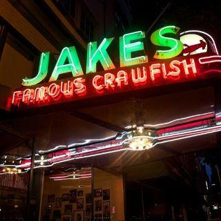 A photo of Jake's Famous Crawfish restaurant