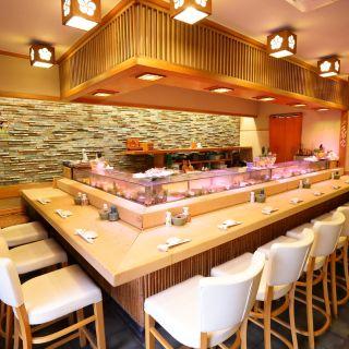 A photo of Sushi Gin restaurant