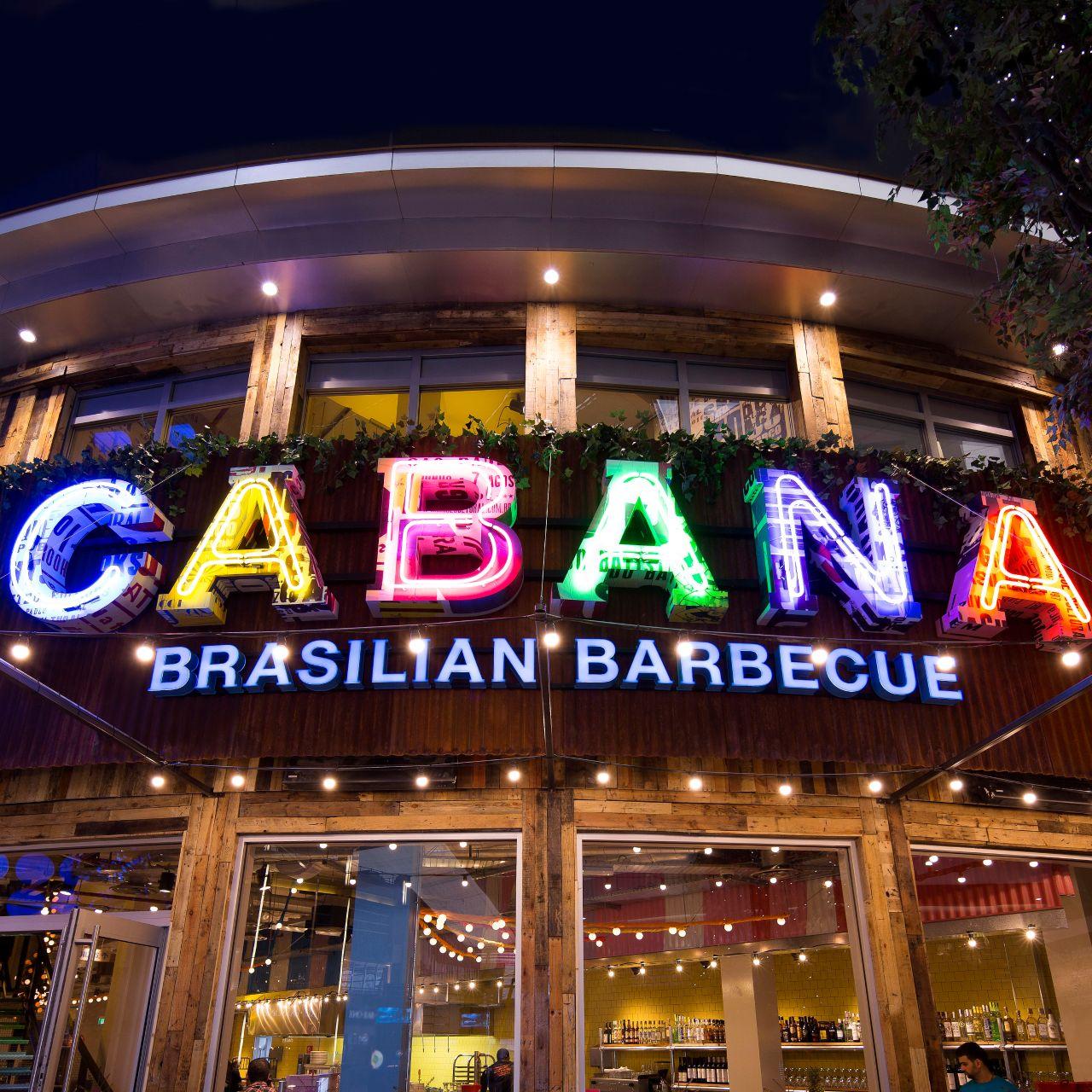 Cabana Brasilian Barbecue O2 London Opentable