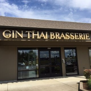 A photo of Gin Thai Brasserie restaurant