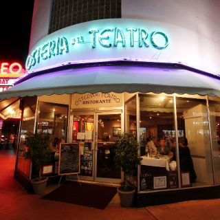A photo of Osteria Del Teatro restaurant
