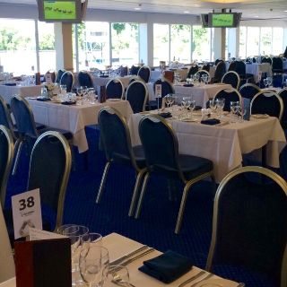 A photo of The Castle Restaurant at Royal Windsor Racecourse restaurant