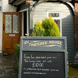 A photo of The Thatched House restaurant