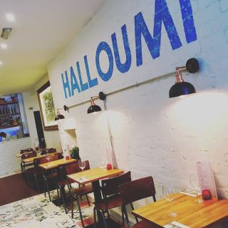 A photo of Halloumi restaurant