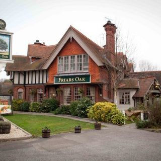 A photo of The Friars Oak restaurant