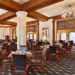 A photo of MacArthur's Restaurant at The Historic Thayer Hotel restaurant