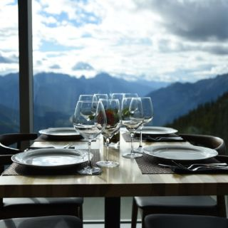 A photo of Sky Bistro, Mountain Top Dining @ Banff Gondola restaurant