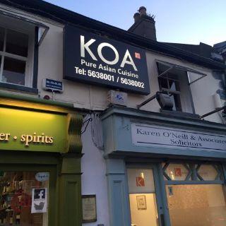 A photo of Koa restaurant