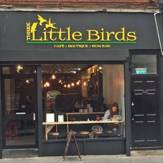 A photo of Three Little Birds restaurant