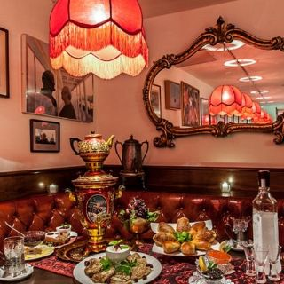 A photo of Russian Samovar & Tolstoy's Lounge restaurant