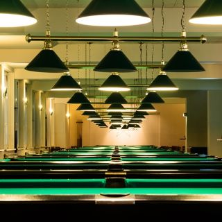 A photo of Cafe Moskau - Billard Area restaurant