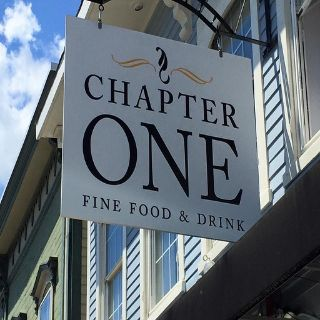 A photo of Chapter One restaurant
