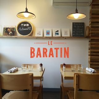 A photo of Le Baratin restaurant