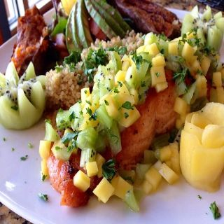 A photo of Healthy Garden Gourmet Restaurant, Juices, & Pizzeria restaurant