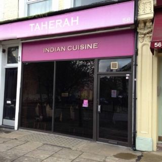 A photo of Taherah Indian restaurant