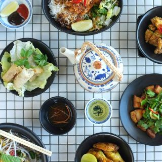 A photo of misschu - Exhibition St restaurant