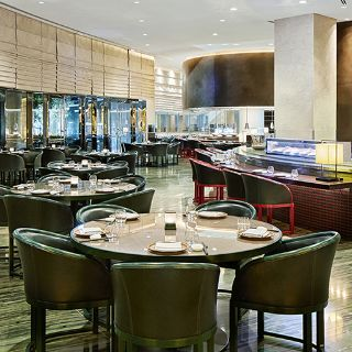 A photo of Armani/Hashi - Armani Hotel Dubai restaurant