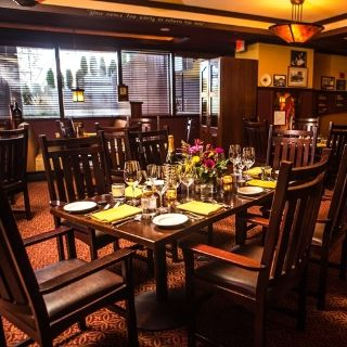 A photo of Spencer's for Steak and Chops – DoubleTree by Hilton Spokane City Center restaurant