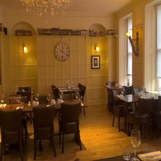 A photo of Cob & Pen Brasserie at The Swan Revived Hotel restaurant