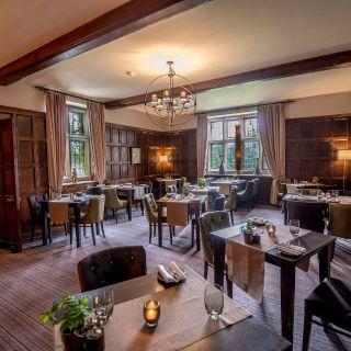 A photo of Court Brasserie at Stonehouse Court restaurant