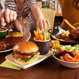A photo of Harvester - George Stephenson restaurant