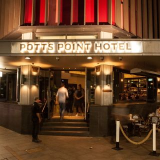 A photo of Potts Point Hotel restaurant